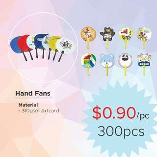 Hand Fans Printing
