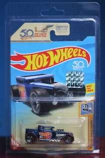 Hot Wheels 2018 Super Treasure Hunt BONE SHAKER