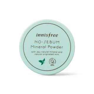 🚚 innisfree 礦物控油蜜粉