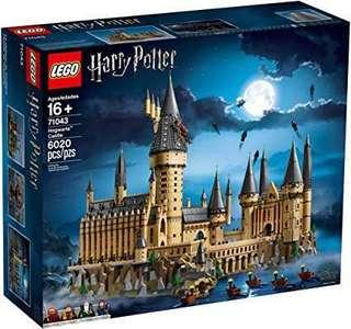 Lego 71043 Hogwarts castle Harry Potter