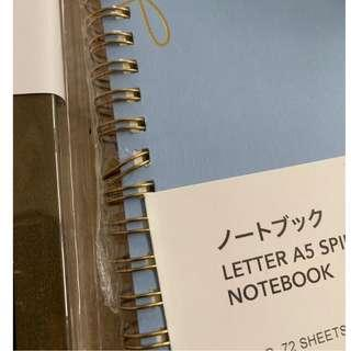 Miniso A5 Grid Notebook