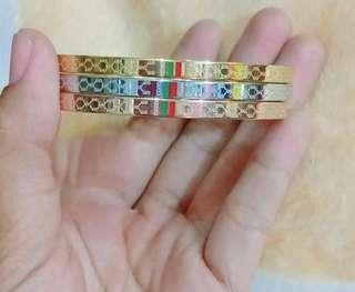 Gelang Gucci Stainless Steel