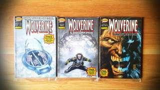 Gotham Comics 'Wolverine' Special Issues #2, #3 & #4 *Giant Super Special (Thick) Comic Books (Marvel)