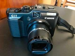 Canon Powershot G11 and accessories