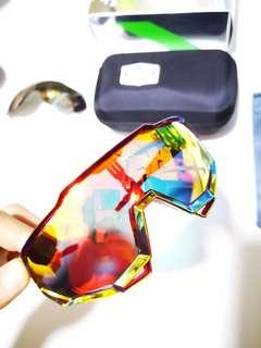 100% speedtrap peter sagan oil slick shades sunglasses