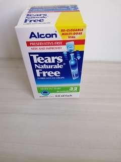 Alcon Tears Free Natural Lubricant Eye Drop