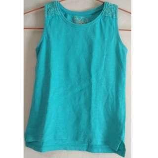 #FREEongkir Sleeveless shirt blue Mothercare 4Y