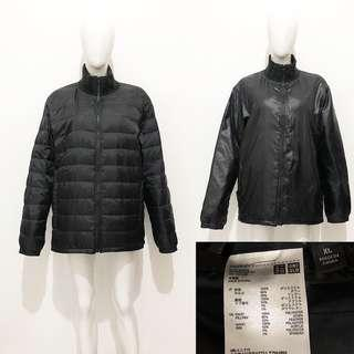 Uniqlo reversible down coat / jacket