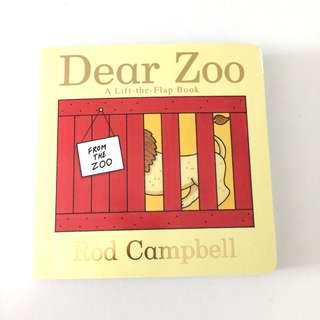 Baby Dear Zoo Board Book by Rod Campbell