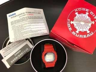 G-SHOCK Casio GW-B5600FB-4JR 神戶市消防局救助隊50週年