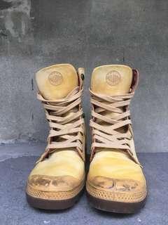 🚚 Palladium 法國軍靴品牌 真皮靴 正品