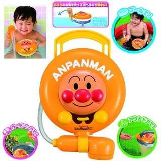 ‼️二手‼️日本進口限定販售 麵包超人 可調式出水口 電動噴水 花灑 洗澡玩具