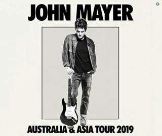 Tiket Konser John Mayer Green - Seated