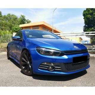 Volkswagen Scirocco For Rent !!