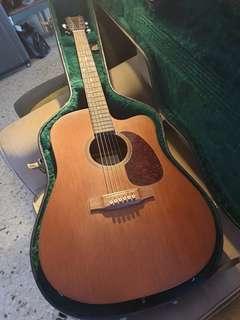 Martin D15E guitar with fishman prefix