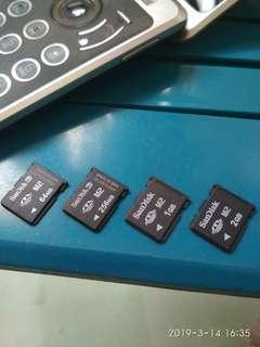 Sony Ericsson memory card m2