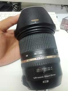 Tamron 24-70mm f2.8 VR canon used