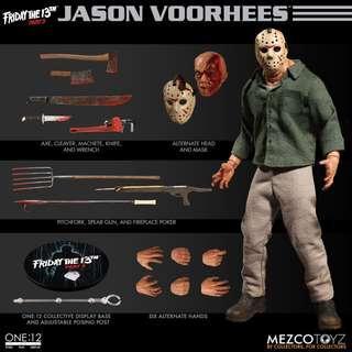 全新未開封現貨 Mezco One:12 Collective Friday the 13th part 3 Jason Voorhees Action Figure