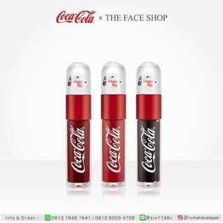 THE FACESHOP COCA COLA LIP TINT ORIGINAL