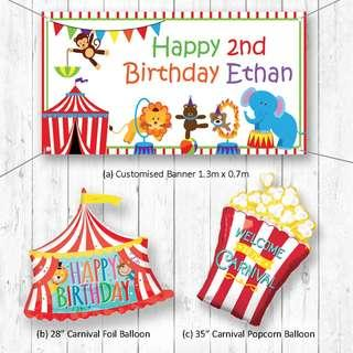 Circus Carnival Balloon Party Package Party Wholesale Singapore