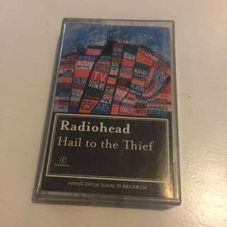 Radiohead hail to the thief cassette kaset