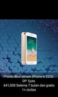 Kredit iPhone 6 bunga 0% ibox atrium Senen Jakarta pusat