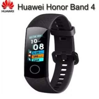 🚚 HUAWEI Honor Band 4 Smart Bracelet 0.95 Inch AMOLED Touch Large Color Screen 5ATM Heart Rate Monitor Swimming Posture Recognition - Black
