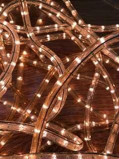 聖誕新年燈光3分粗全長約60呎