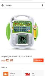 🚚 Leapfrog Mr Pencil Scribble and Write