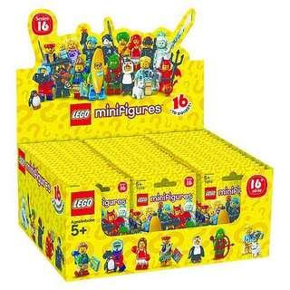 Lego minifigure 16