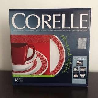 🚚 Corelle Dinner Ware 16 pcs Set Bandhani