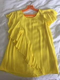 🚚 Yellow Blouse