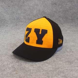 Topi Flexfit Zooyork Skateboarding Mustard Black Second Original Murah