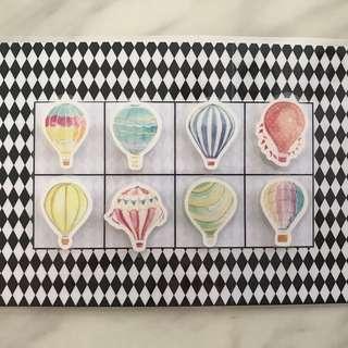 🚚 DIY Memory - Hotair Balloon - Half A4 Size