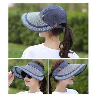 f3166c38 Pre Order Women's Reversible 2-in-1 Wide Brim Floppy Hat UV Protection