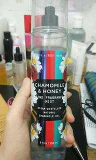 """90-95% Bath and Body Works - Body Mist """"Honey and Chamomile"""""""