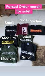 Forced Order merch