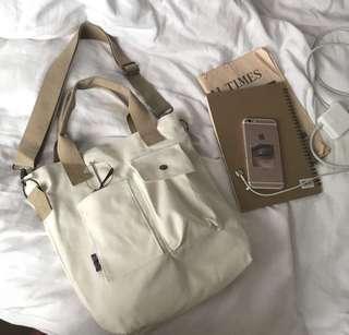 🚚 CANVAS SHOULDER BAG