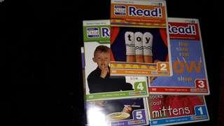 Your child can read 5 dvd set