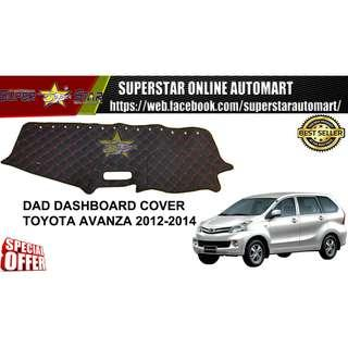 DAD Non Slip Dashboard Cover - Toyota Avanza Yr 2012-2014y