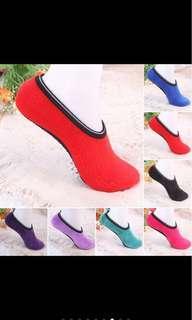 Bnip anti slip furry home socks slippers