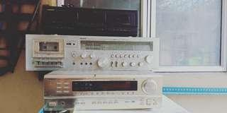 Radio, amplifier, tuner,tv