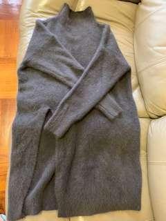 混兔毛連身裙