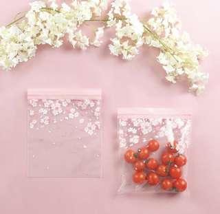韓國Daiso櫻花系列密實袋