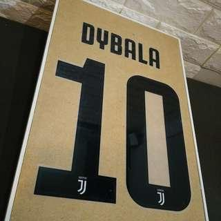 Official Font Juve Home 18/19 - DYBALA 10