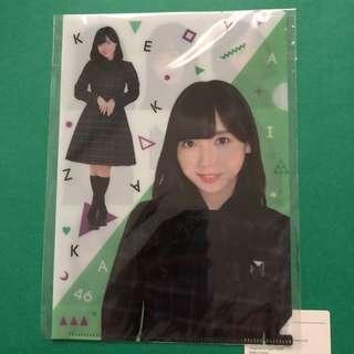 KEYAKIZAKA46 CLEAR FILE HOLDER A5