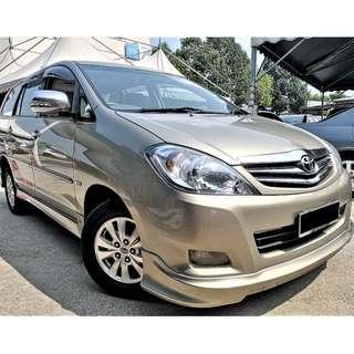 Toyota Innova 2.0 G (A) 2010