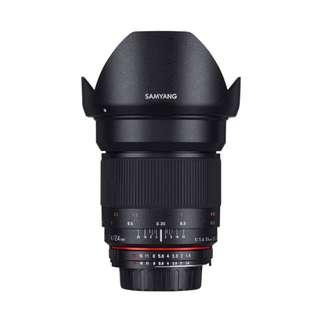 🚚 Samyang 24mm f1.4 ED AS IF UMC Lens (Canon, Nikon AE and Sony E Mount 24mm F1.4 f 1.4)