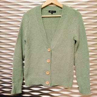 🚚 [NET購入]湖水綠針織外套(S)