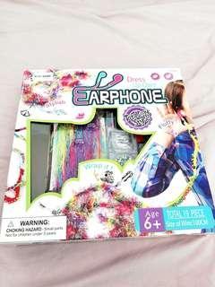 Earphones dress up kit